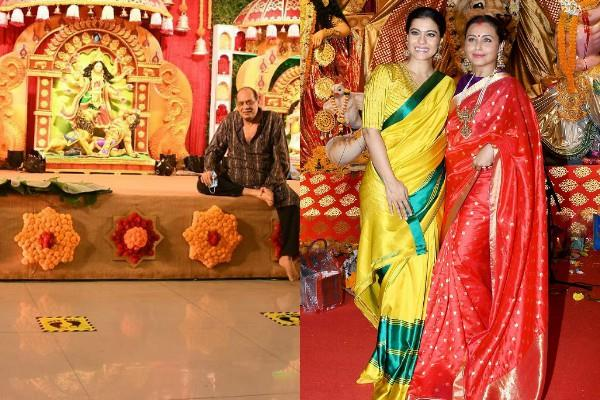 rani mukerji and kajol did not join durga puja