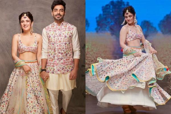 radhika madan aparshakti khurana cute chemistry at lakme fashion week