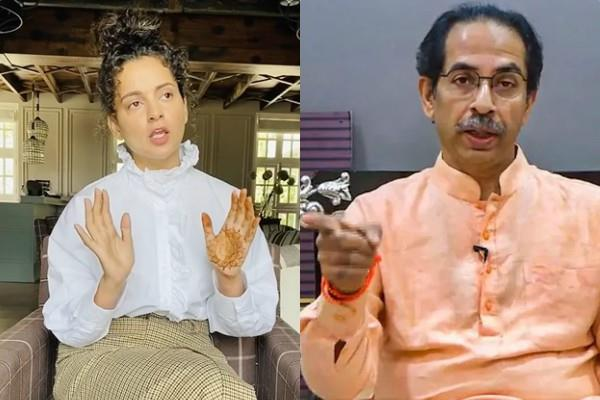 kangana ranaut release video message to uddhav thackeray
