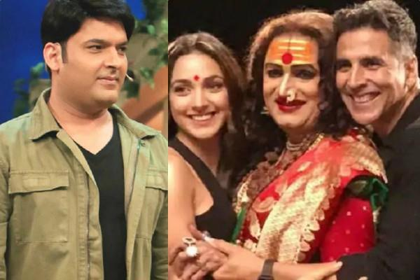 akshay kiara and laxmi narayan tripathi arrived the kapil sharma show