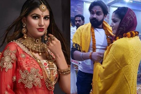 case filed against sapna chaudhary husband veer sahu