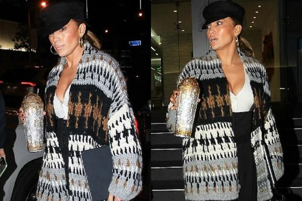 jennifer lopez spotted on london streets