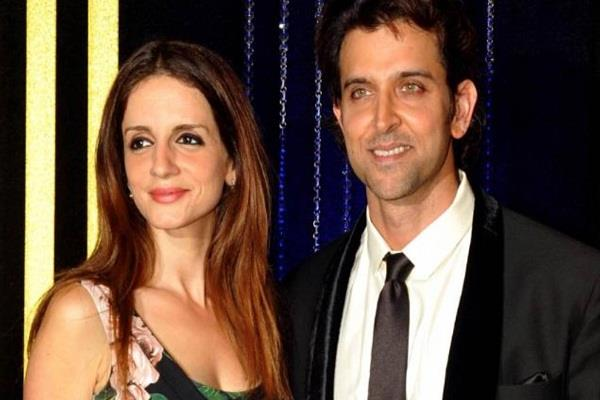hrithik roshan post a loving comment on ex wife suzanne birthday