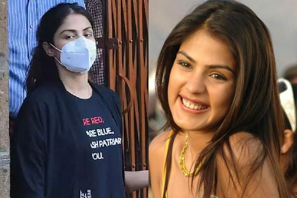rhea chakraborty released from byculla jail after a month