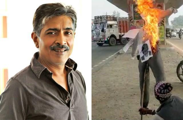 karni sena against director prakash jha web series aashram2