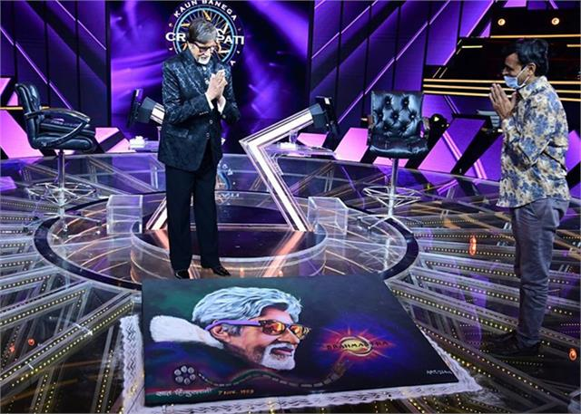 amitabh get special gift kbc 12 set for completing 51 years in bollywood