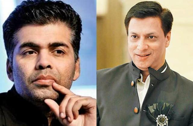 madhur bhandarkar accuses karan johar of stealing title of his web series