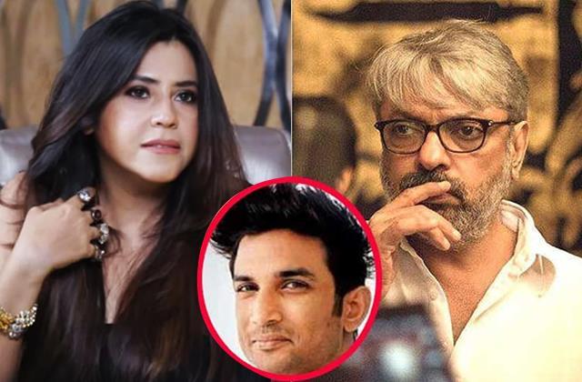 sushant case sanjay leela bhansali ekta kapoor stars appear in muzaffarpur