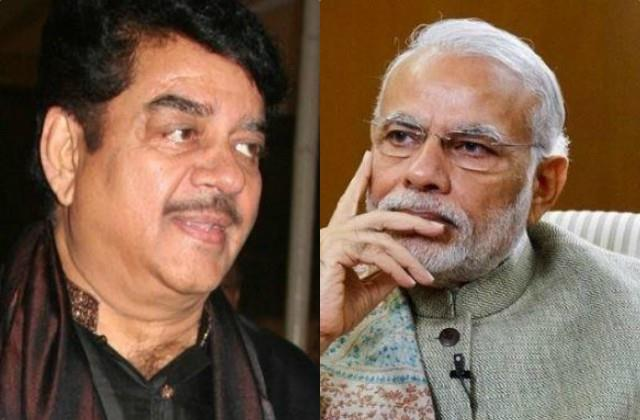 shatrughan sinha commented on pm narendra modi