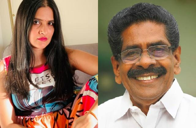 sona mohapatra angry on cong chief mullapally ramachandran statement on women