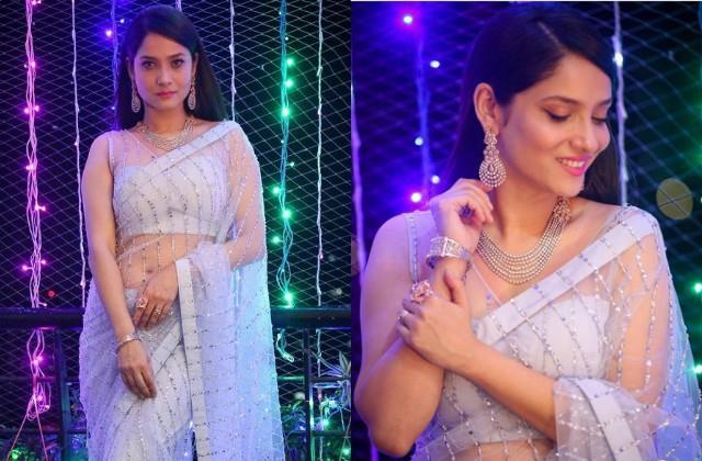 sushant sister shweta singh kirti praise ankita lokhande latest diwali look