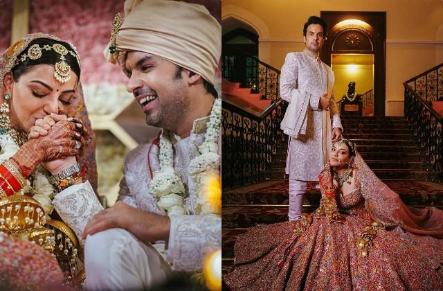kajal aggarwal share beautiful wedding pictures with gautam kitchlu