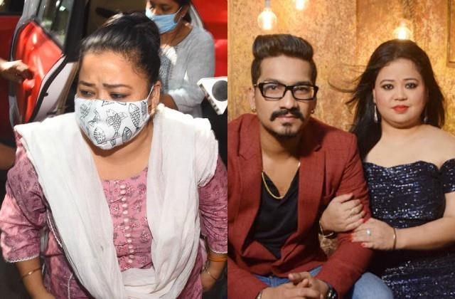 ncb arrests bharti singh and her husband haarsh limbachiyaa in drugs case