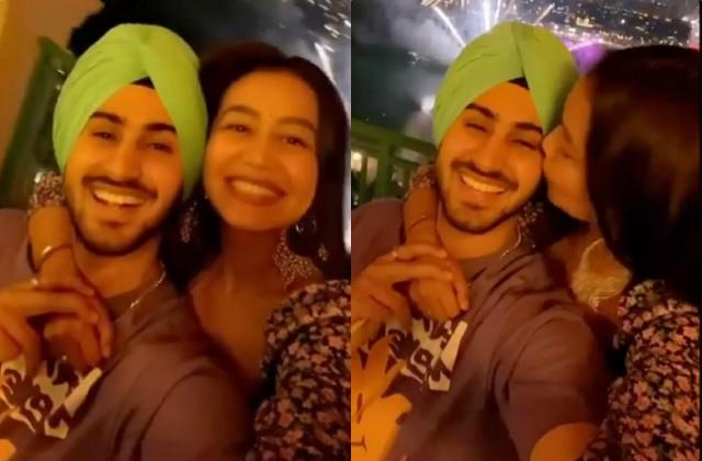 neha kakkar and rohanpreet celebrates diwali in dubai
