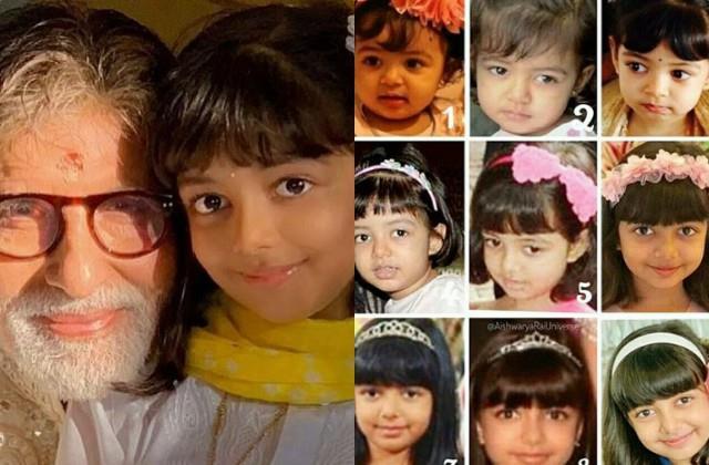 amitabh bachchan wished birthday to grand daughter aaradhya bachchan