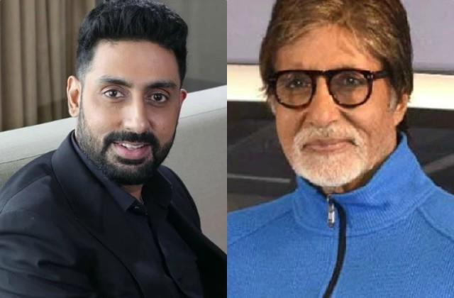 abhishek bachchan on nepotism says amitabh papa never made film for me