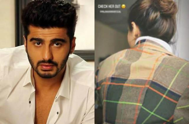 arjun kapoor shared random photo of malaika arora