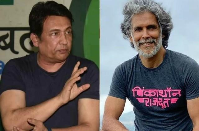 shekhar suman reaction on milind soman photo