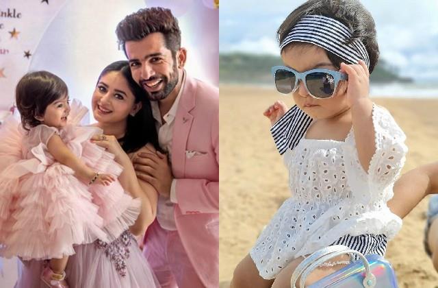 jai bhanushali mahi vij 13 month old daughter tara became youngest influencer
