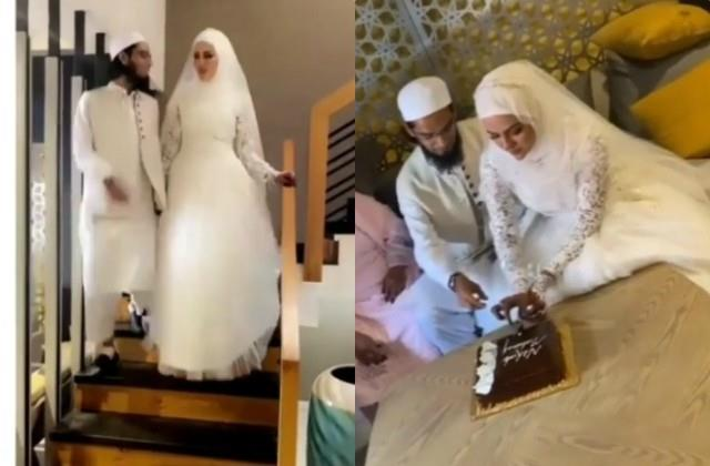 sana khan got married with maulana mufti anas