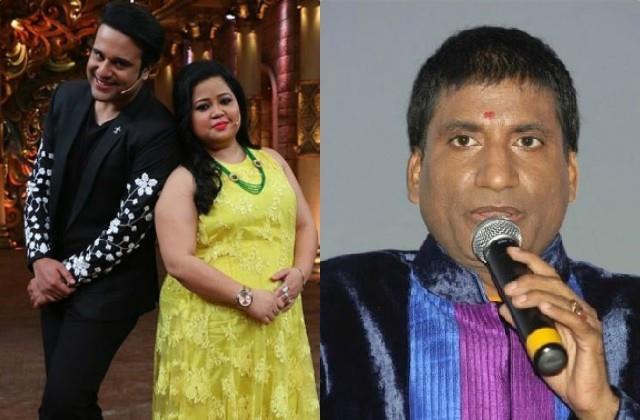 krushna abhishek support bharti singh and calls raju srivastava bakwass