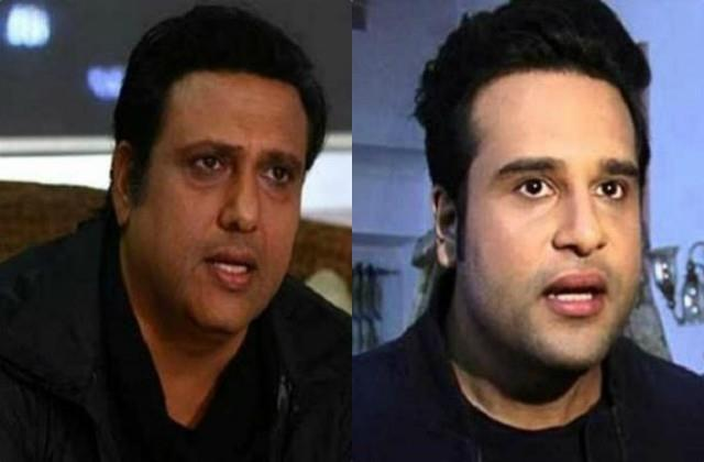 govinda lashes out on krushna abhishek statement