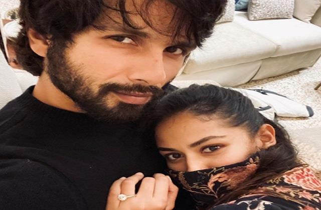 shahid kapoor shares romantic photo with wife mira rajput