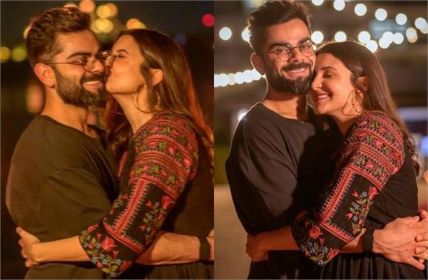 anushka sharma shares romantic picture with virat kohli stars give reaction