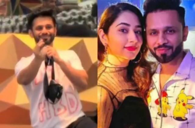 rahul vaidya propose to girlfriend disha parmar on national tv