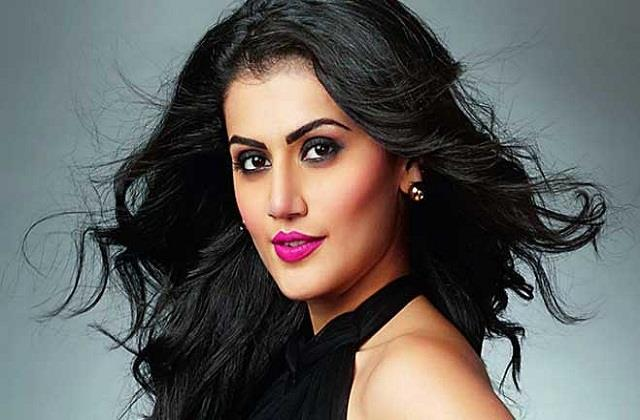 taapsee pannu says i was replaced by films due to actor wife