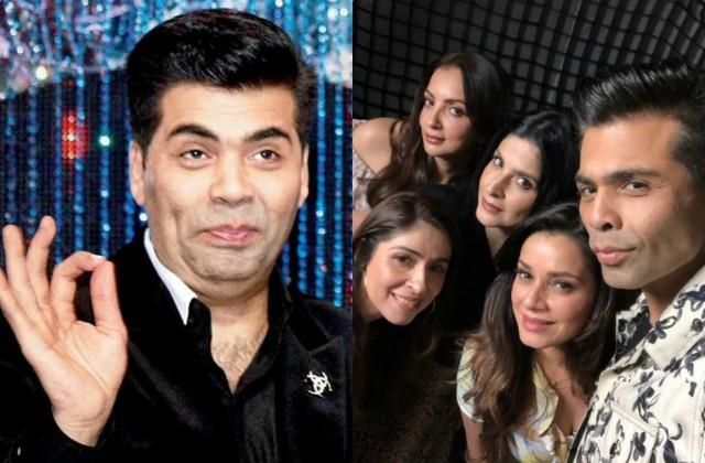 karan johar had most surprising reaction who make fun of him