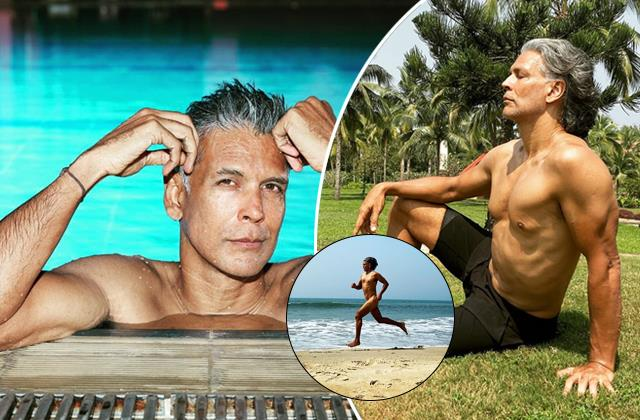 milind soman ran naked on the beach on his birthday