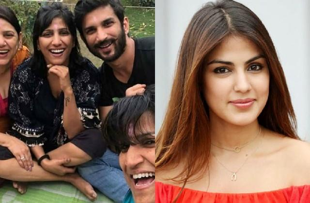 sushant singh rajputs sisters says this about rhea chakraborty fir