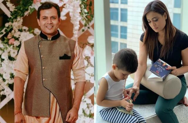 shweta tiwari husband accuses her not letting him meet with son on his birthday