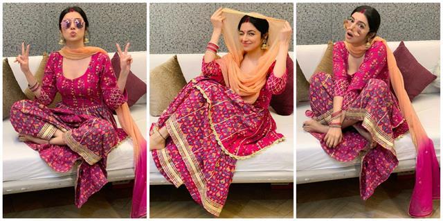 divya khosla shares her stunning photos on karwa chauth