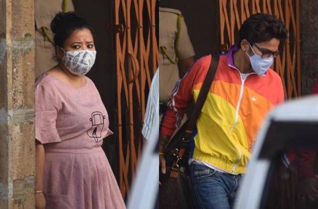 drugs case bharti singh and husband harsh reached court after medical test
