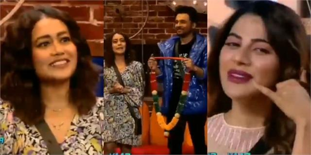 neha arrives at bigg boss 14 house in search of lady love for brother tony