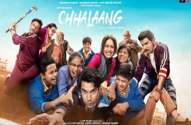rajkummar rao nushrat bharucha movie chhalaang review