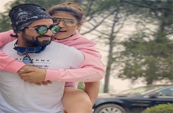 ayushmann khurrana and tahira kashyap celebrating 12th wedding anniversary