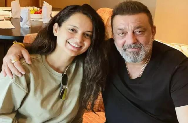 kangana ranaut post photo with sanjay dutt users trolled actress