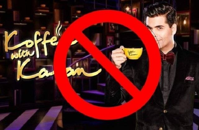 users signing online petition to ban karan johar s show koffee with karan
