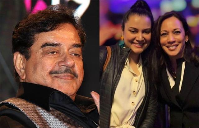 shatrughan reveal his niece is closely associated with kamala harris