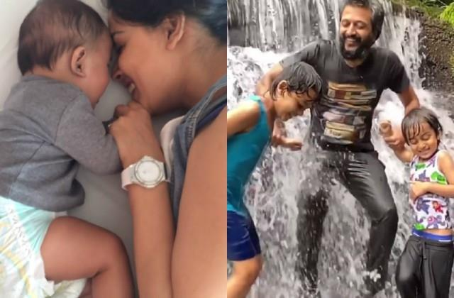 genelia dsouza shares video on son riaan birthday