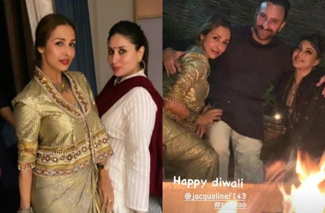 malaika arora kareena saif jacqueline celebrate diwali in dharamshala
