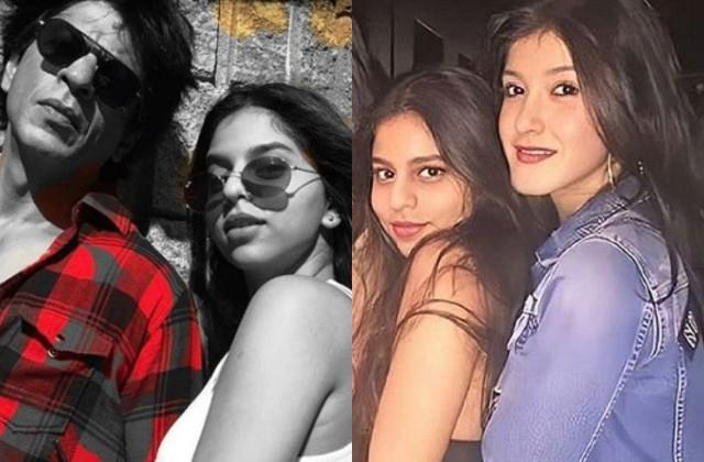 suhana khan wished father shahrukh and shanaya in special way on their birthday