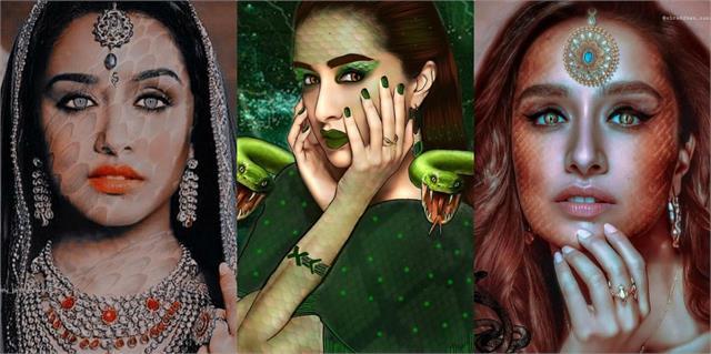 shraddha kapoor shares her naagin look photos