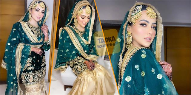 sana khan looks beautiful in her latest post wedding pictures