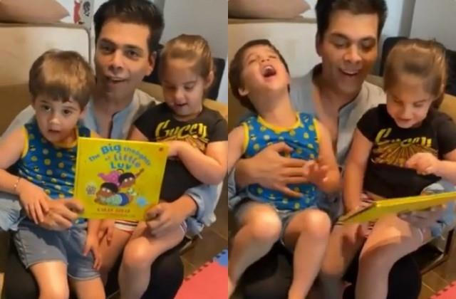 karan johar launched new book on his children
