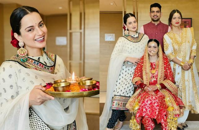 kangana ranaut welcome new member in family and wish fans happy diwali