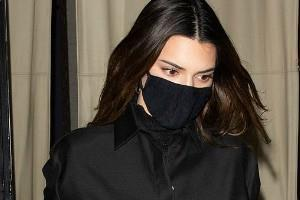 kendall jenner turns out for dinner with friend bella hadid